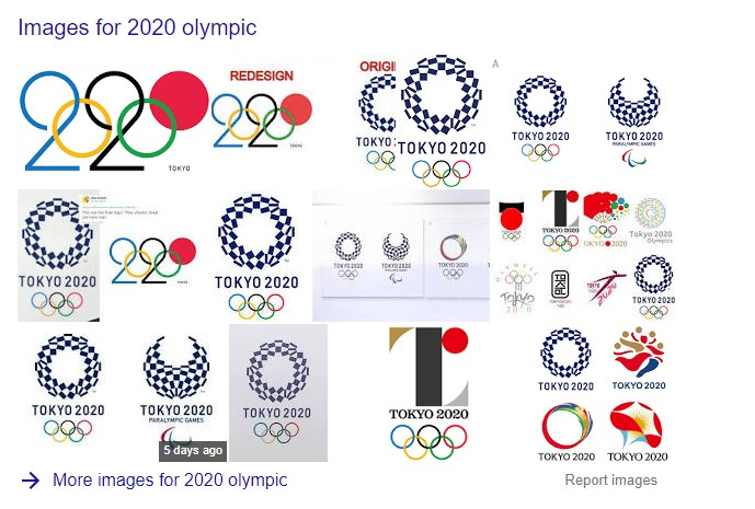 2020 Other Popular Olympic Logo Design