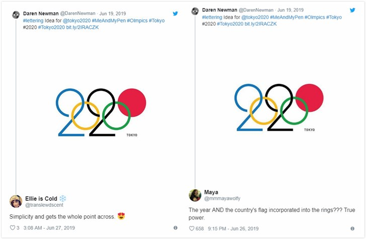 Comments on 2020 Other Popular Olympic Logo Design