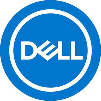 DELL blue logo design