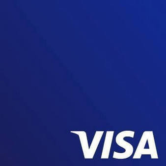 VISA blue logo design