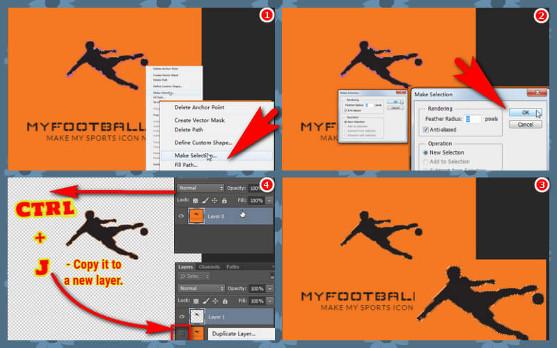 How to create a favicon from logo with Photoshop CC