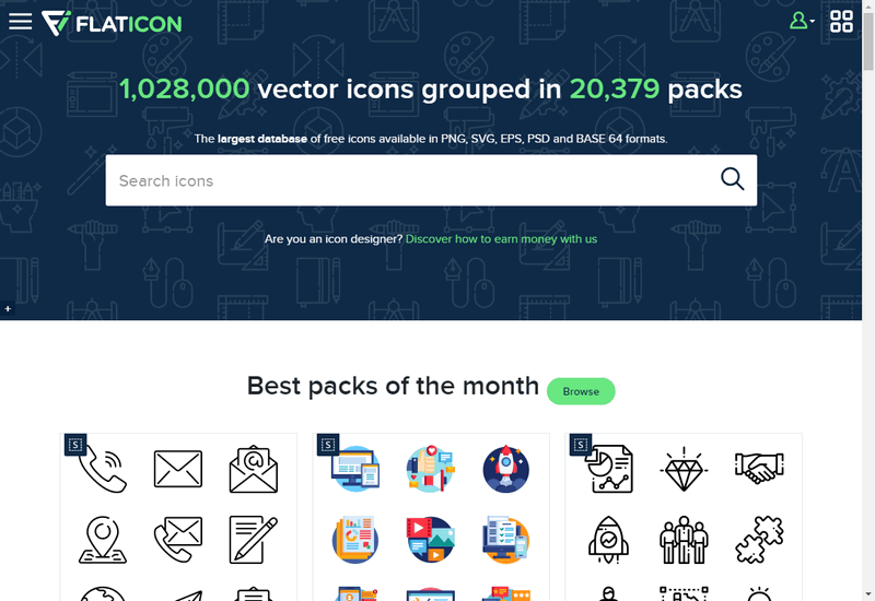Flaticon icon maker