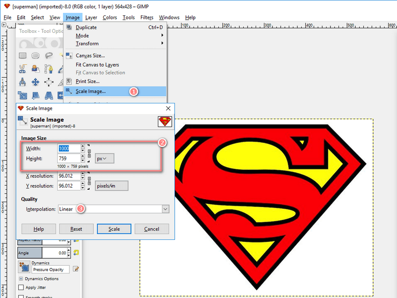 How to Resize Logo Image in Pixels Correctly