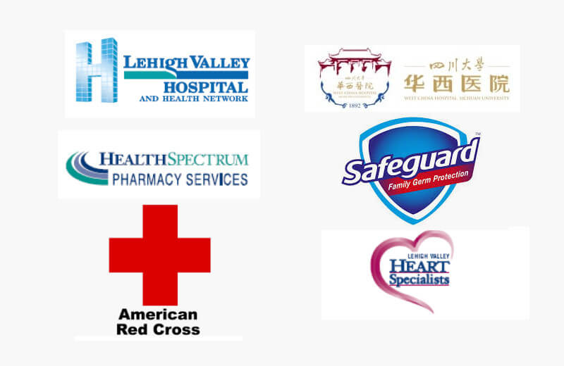 Medical brands and their logo designs