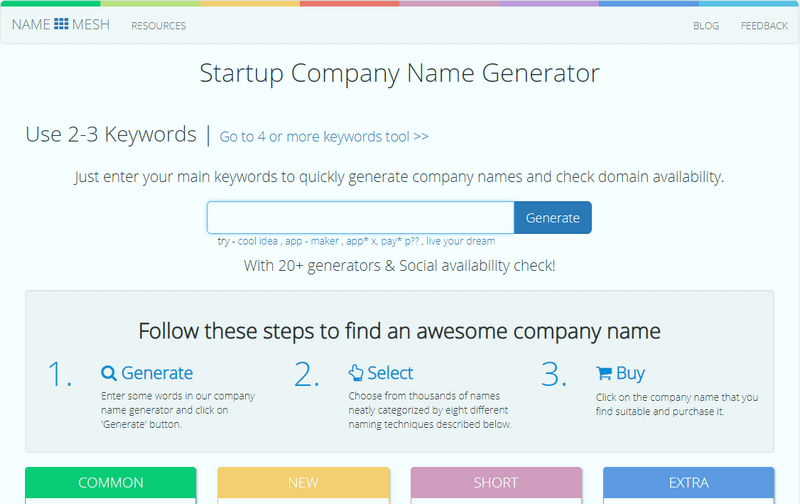 Most Cooling Name Generators for Blog, YouTube, Business and