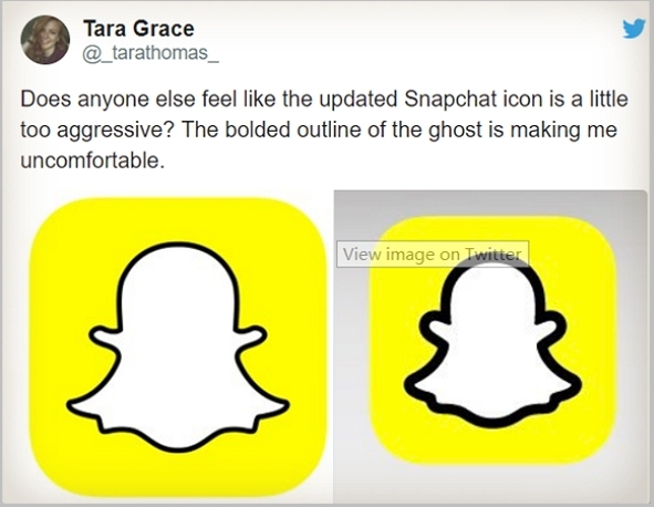 New Snapchat Logo Change - Users Reaction