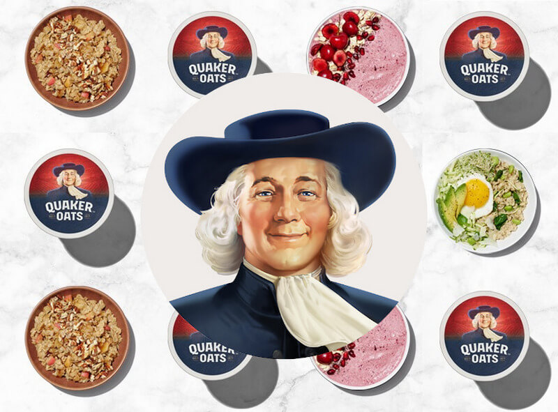 Quaker Oats people logo design