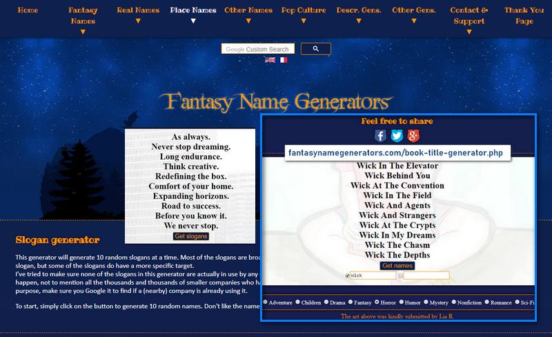 Free Tagline, Motto And Slogan Generators That Rank Top 7