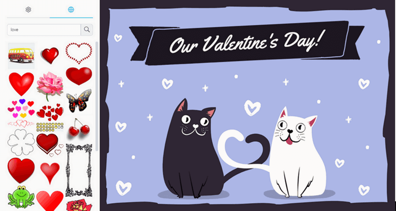 Make your valentine card.