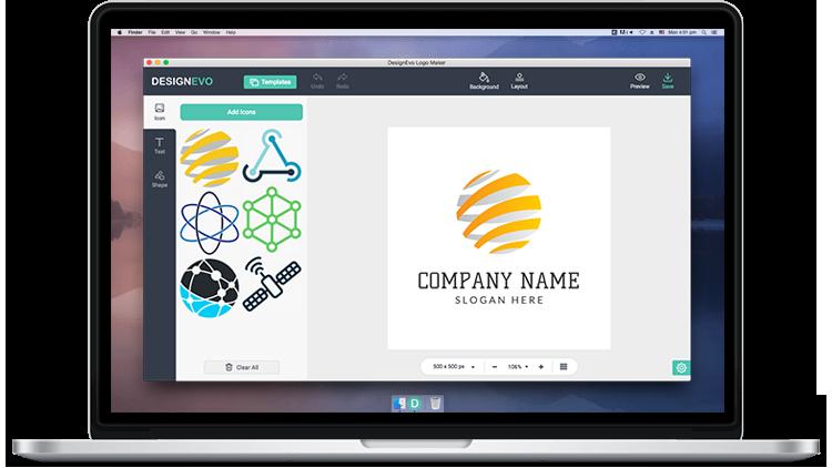 Download Logo Maker for Mac & Windows - DesignEvo