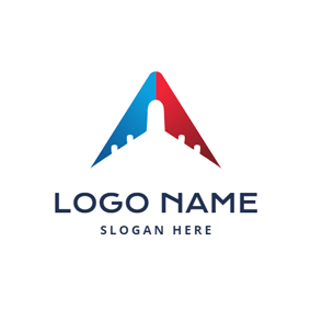 Abstract Airplane and Travel Agency logo design