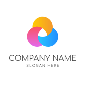 Abstract Colorful Circle logo design