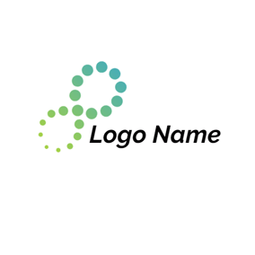 Abstract Infinity Icon logo design
