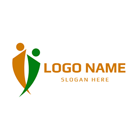 Abstract People and Management logo design