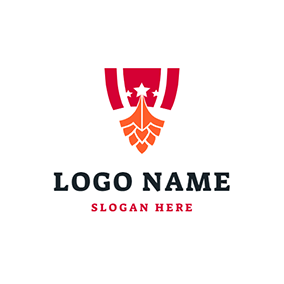 Abstract Shield and Viking logo design