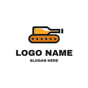 Abstract Tank Logo logo design