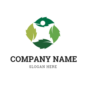 Abundant Mint Leaf logo design