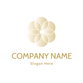Attractive Flower and Pearl logo design