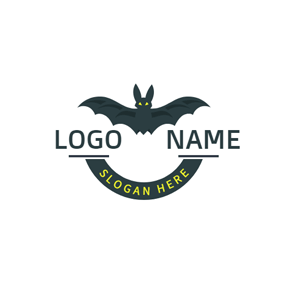 Banner and Terrible Bat logo design