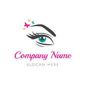 Beautiful Eye Make Up logo design