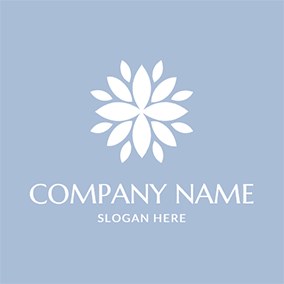 Beautiful Flower and Perfume logo design