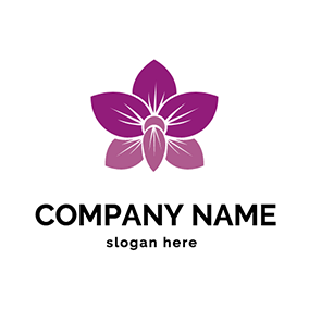 Beautiful Orchid Logo logo design