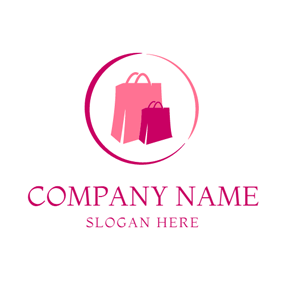 Beautiful Shopping Bag logo design