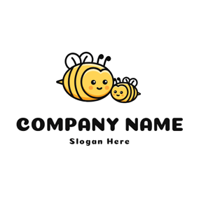 Big Bee and Little Bee logo design