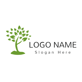Big Lush Tree logo design