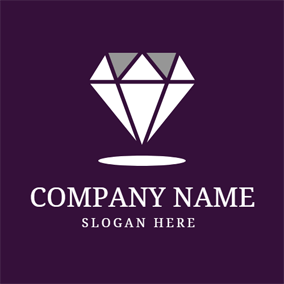 Big Shining Diamond logo design