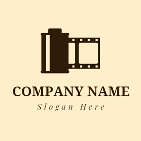Black and Brown Film logo design