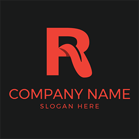 Free r logo designs designevo logo maker black and red letter r logo design thecheapjerseys Image collections
