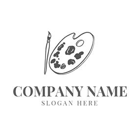 free paint logo designs designevo logo maker