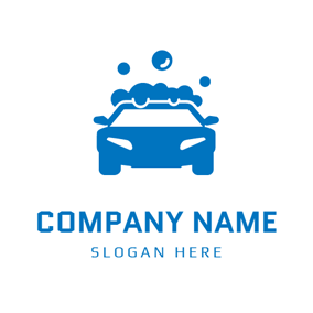 Car Wash Logo Design Samples