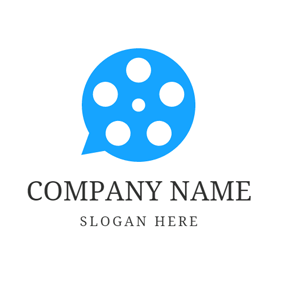 Blue Circle and Cinefilm logo design