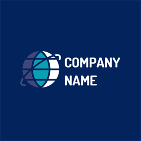 Blue Earth and Mazarine Circle logo design