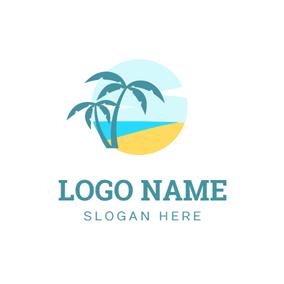 Free Beach Logo Designs Designevo Logo Maker