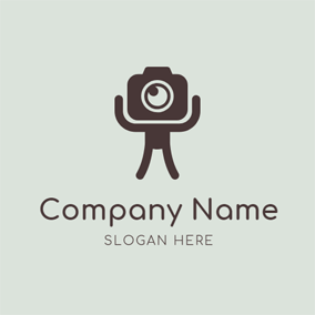 Body Brace and Camera logo design