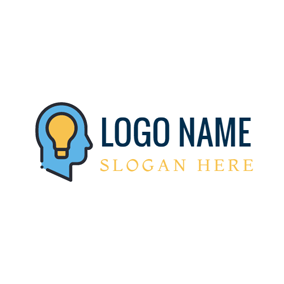 Brilliant Information Technology Idea logo design