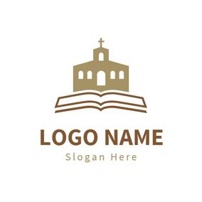 Free church logo design maker