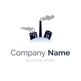 Building and Industrial Chimney logo design
