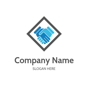 Business Cooperation and Work logo design