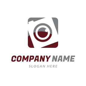 Camera Lens and Camera logo design