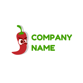 Cartoon Red Spice logo design