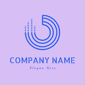 CD and Melody logo design