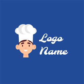 Chef Hat and Anime logo design