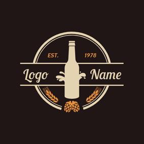 Diseños De Logotipos De Cerveza Gratis Creador De