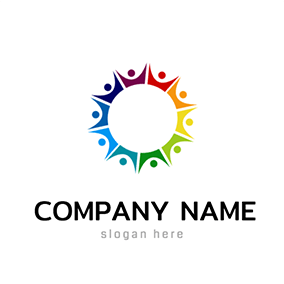 Circle People Harmony Logo logo design