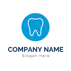Clean White Teeth logo design
