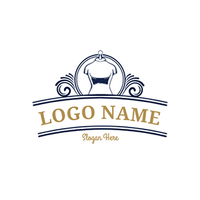 Clothing Dressmaker and Sewing logo design